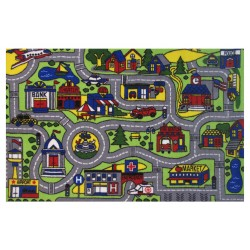 LA Fun Rugs FT-103 Driving Time Fun Time Collection