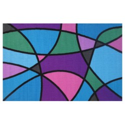 LA Fun Rugs FT-63 Wave Runner Fun Time Collection