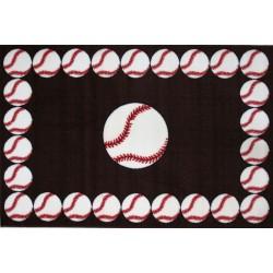 LA Fun Rugs FT-91 Baseball Time Fun Time Collection