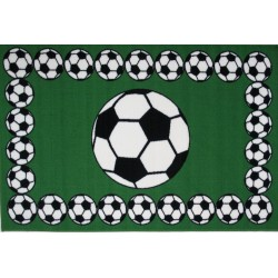 LA Fun Rugs FT-94 Soccer Time Fun Time Collection