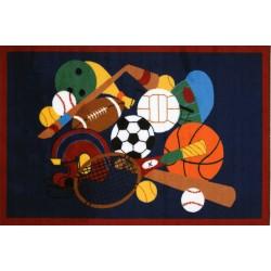 LA Fun Rugs GI-51 Sports America Fun Time Collection