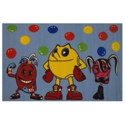 "LA Fun Rugs PM-71 Pac & Friends Pac-Man Collection - 39"" x 58"""