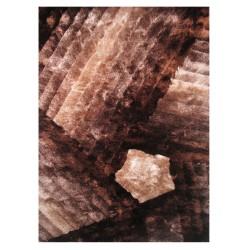 """LA Rug DI-90 Bronze Dimension Shaggy Collection - 5' x 7' 3"""""""