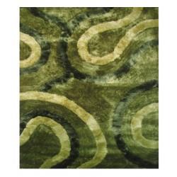 """LA Rug DI-93 Grassy Dimension Shaggy Collection - 5' x 7' 3"""""""