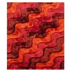 "LA Rug DI-84 Warm Waves Dimension Shaggy Collection - 5' x 7' 3"""