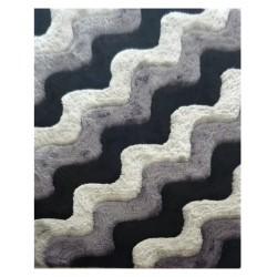 "LA Rug DI-86 Iron Waves Dimension Shaggy Collection - 5' x 7' 3"""