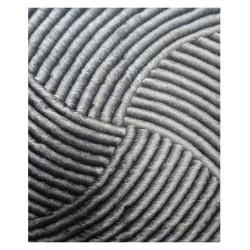 """LA Rug DI-87 Iron Swirl Dimension Shaggy Collection - 5' x 7' 3"""""""