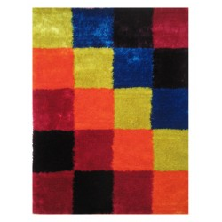 "LA Rug ES-22 Checkers 2 Exotic Collection - 39"" x 58"""