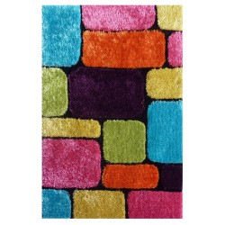 "LA Rug ES-48 Bricks 1 Exotic Collection - 39"" x 58"""