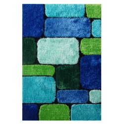 "LA Rug ES-49 Bricks 2 Exotic Collection - 39"" x 58"""