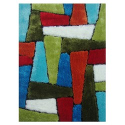 "LA Rug ES-64 Abstract Exotic Collection - 39"" x 58"""
