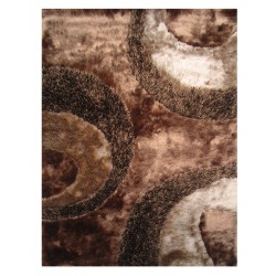 LA Rug FA-10  Fantasy Shaggy Collection - 5' x 7' 3""