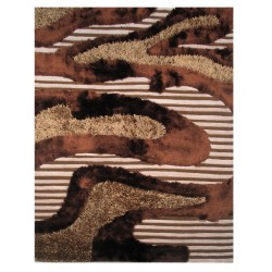 LA Rug FA-11  Fantasy Shaggy Collection - 5' x 7' 3""