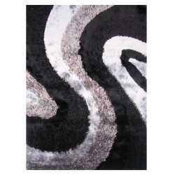 LA Rug FA-12  Fantasy Shaggy Collection - 5' x 7' 3""