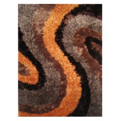LA Rug FA-13  Fantasy Shaggy Collection - 5' x 7' 3""