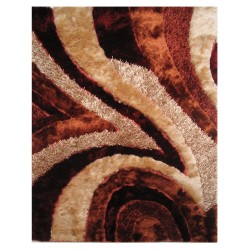 LA Rug FA-16  Fantasy Shaggy Collection - 5' x 7' 3""