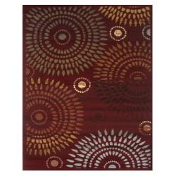 LA Rug 210-03 Crimson Prints Inspiration Collection
