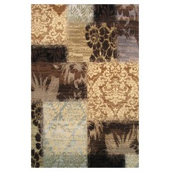 LA Rug 302-16 Cool Patchwork Legacy Collection