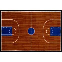 LA Fun Rugs GI-101 Basketball Court Fun Time Collection