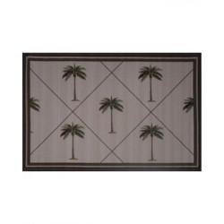"LA Fun Rugs FTQ-231 Palm Fronds Fun Time Collection -  3' 3"" x 4' 10"""